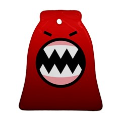 Funny Angry Bell Ornament (Two Sides)