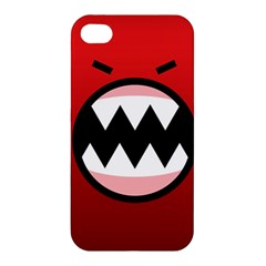 Funny Angry Apple Iphone 4/4s Premium Hardshell Case