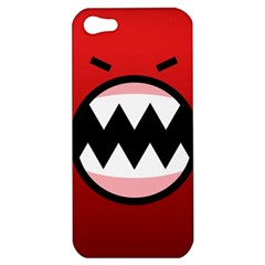 Funny Angry Apple iPhone 5 Hardshell Case