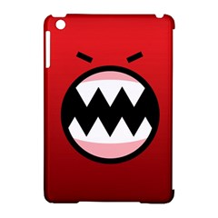 Funny Angry Apple iPad Mini Hardshell Case (Compatible with Smart Cover)