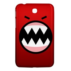 Funny Angry Samsung Galaxy Tab 3 (7 ) P3200 Hardshell Case