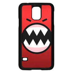 Funny Angry Samsung Galaxy S5 Case (Black)