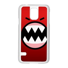 Funny Angry Samsung Galaxy S5 Case (White)