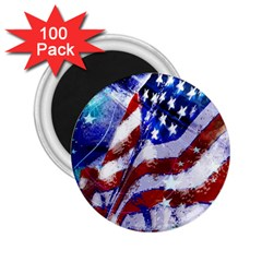 Flag Usa United States Of America Images Independence Day 2.25  Magnets (100 pack)