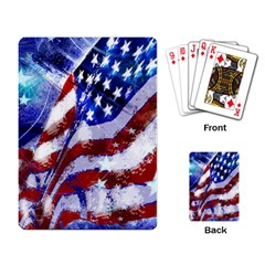 Flag Usa United States Of America Images Independence Day Playing Card
