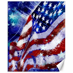 Flag Usa United States Of America Images Independence Day Canvas 16  X 20