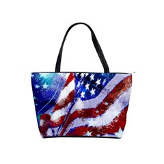 Flag Usa United States Of America Images Independence Day Shoulder Handbags