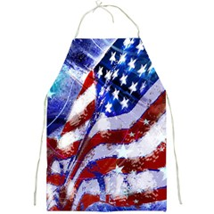 Flag Usa United States Of America Images Independence Day Full Print Aprons