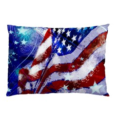 Flag Usa United States Of America Images Independence Day Pillow Case (two Sides)
