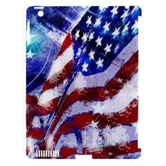 Flag Usa United States Of America Images Independence Day Apple iPad 3/4 Hardshell Case (Compatible with Smart Cover)