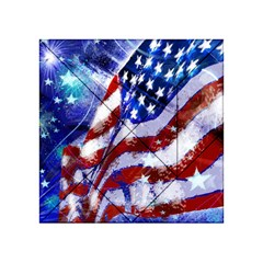 Flag Usa United States Of America Images Independence Day Acrylic Tangram Puzzle (4  x 4 )
