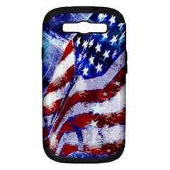 Flag Usa United States Of America Images Independence Day Samsung Galaxy S Iii Hardshell Case (pc+silicone)