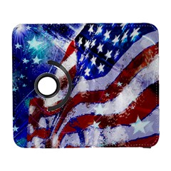 Flag Usa United States Of America Images Independence Day Galaxy S3 (Flip/Folio)