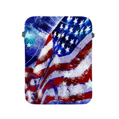 Flag Usa United States Of America Images Independence Day Apple iPad 2/3/4 Protective Soft Cases