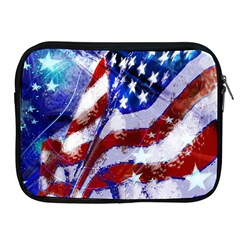 Flag Usa United States Of America Images Independence Day Apple iPad 2/3/4 Zipper Cases