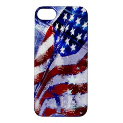 Flag Usa United States Of America Images Independence Day Apple iPhone 5S/ SE Hardshell Case