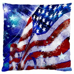 Flag Usa United States Of America Images Independence Day Standard Flano Cushion Case (One Side)