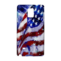 Flag Usa United States Of America Images Independence Day Samsung Galaxy Note 4 Hardshell Case