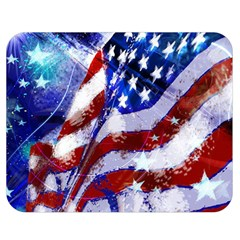 Flag Usa United States Of America Images Independence Day Double Sided Flano Blanket (Medium)