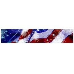 Flag Usa United States Of America Images Independence Day Flano Scarf (Large)