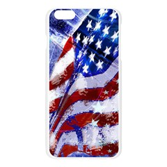 Flag Usa United States Of America Images Independence Day Apple Seamless iPhone 6 Plus/6S Plus Case (Transparent)