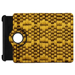 Golden Pattern Fabric Kindle Fire Hd 7