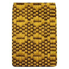 Golden Pattern Fabric Flap Covers (l)