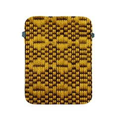 Golden Pattern Fabric Apple Ipad 2/3/4 Protective Soft Cases