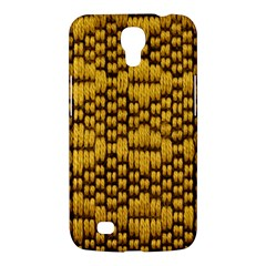 Golden Pattern Fabric Samsung Galaxy Mega 6.3  I9200 Hardshell Case
