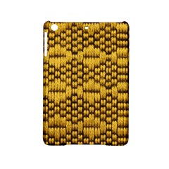 Golden Pattern Fabric Ipad Mini 2 Hardshell Cases