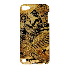 Golden Colorful The Beautiful Of Art Indonesian Batik Pattern Apple iPod Touch 5 Hardshell Case