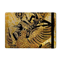 Golden Colorful The Beautiful Of Art Indonesian Batik Pattern Apple iPad Mini Flip Case