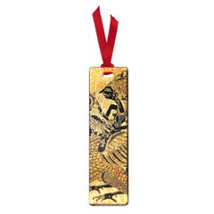 Golden Colorful The Beautiful Of Art Indonesian Batik Pattern Small Book Marks