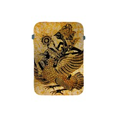 Golden Colorful The Beautiful Of Art Indonesian Batik Pattern Apple iPad Mini Protective Soft Cases