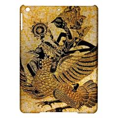 Golden Colorful The Beautiful Of Art Indonesian Batik Pattern iPad Air Hardshell Cases