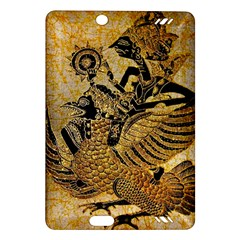 Golden Colorful The Beautiful Of Art Indonesian Batik Pattern Amazon Kindle Fire HD (2013) Hardshell Case