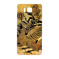 Golden Colorful The Beautiful Of Art Indonesian Batik Pattern Samsung Galaxy Alpha Hardshell Back Case