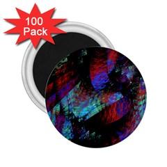 Native Blanket Abstract Digital Art 2.25  Magnets (100 pack)
