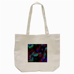 Native Blanket Abstract Digital Art Tote Bag (Cream)