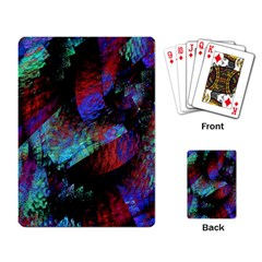 Native Blanket Abstract Digital Art Playing Card