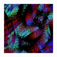 Native Blanket Abstract Digital Art Medium Glasses Cloth