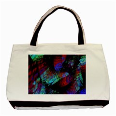 Native Blanket Abstract Digital Art Basic Tote Bag (two Sides)