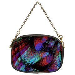 Native Blanket Abstract Digital Art Chain Purses (Two Sides)
