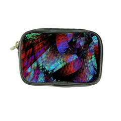 Native Blanket Abstract Digital Art Coin Purse