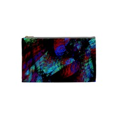 Native Blanket Abstract Digital Art Cosmetic Bag (small)
