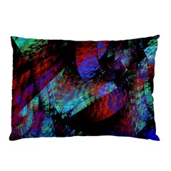 Native Blanket Abstract Digital Art Pillow Case (Two Sides)
