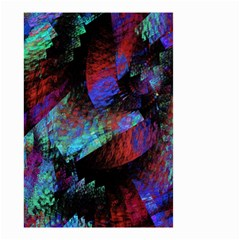 Native Blanket Abstract Digital Art Small Garden Flag (two Sides)