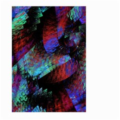 Native Blanket Abstract Digital Art Large Garden Flag (two Sides)
