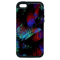 Native Blanket Abstract Digital Art Apple iPhone 5 Hardshell Case (PC+Silicone)