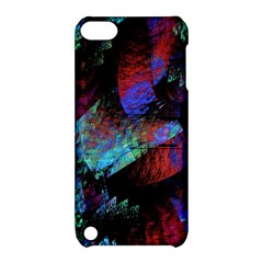 Native Blanket Abstract Digital Art Apple iPod Touch 5 Hardshell Case with Stand